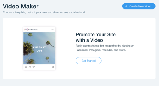 Wix Ascend Video Maker - Visitor Analytics Blog