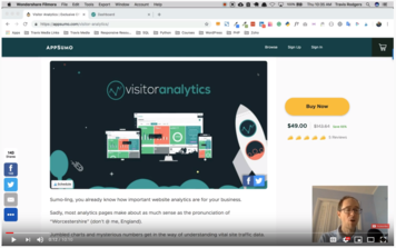 Travis Media review of visitor analytics video