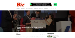 Revista BIZ news visitor analytics