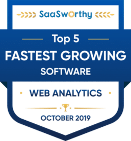 saasworthy fastest growing software award