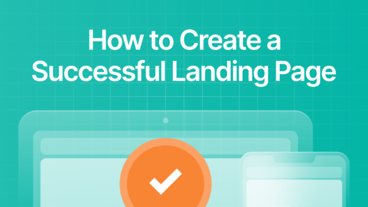 Visitor Analytics - How to create a landing page