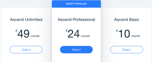 Wix Ascend Pricing - Visitor Analytics Blog