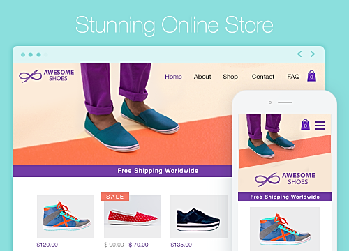 Wix Stores - Visitor Analytics-Blog